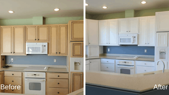 Tips For Painting Your Kitchen Cabinets Flying Colors Painting Co